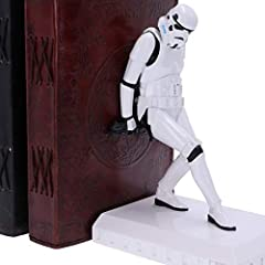 Nemesis Now Officially Licensed The Original Stormtrooper Bookend Figurines, White, 18.5cm #5