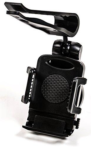 Auto KFZ Handyhalter für die Sonnenblende, verstellbar von 50 bis 120 mm