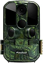 """Usogood Trail Camera 20MP 1080P Game Camera with Night Vision Motion Activated Waterproof 2.4"""" LCD Screen for Outdoor Wildlife Monitoring, Garden, Home Security Surveillance"""
