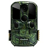 "Usogood Trail Camera 20MP 1080P Game Camera with Night Vision Motion Activated Waterproof 2.4"" LCD Screen for Outdoor Wildlife Monitoring, Garden, Home Security Surveillance"
