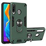 Grandcaser Huawei P30 Lite Étui,Ultra Mince Hybride Double Action Militaire Anti Grand Support...