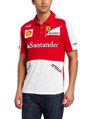 OCC sportwear PUM76124501L Polo Scuderia Ferrari F1 Team Replica 2013 Taille L, Multicolor