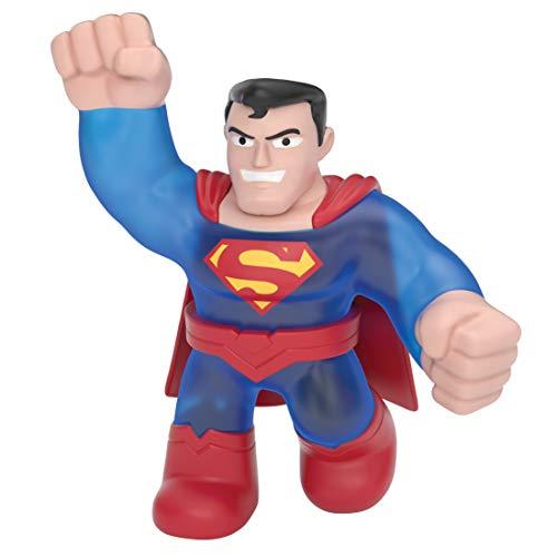 Heroes of Goo Jit Zu 41233 - Paquete de Juguete de Superman de DC, héroes Flexibles, pegajosos y elásticos, Color Rojo y Azul