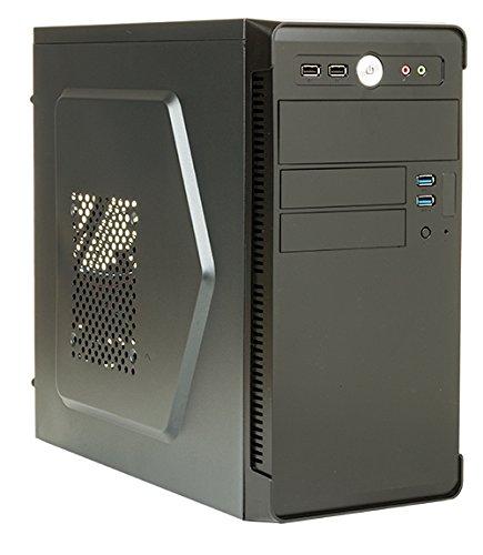 Itek River Mini Tower Computer Case, Nero