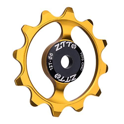 YU-NIYUT 12T Narrow Wide Ceramic Bearing Pulley MTB Bicycle Rear Derailleur Jockey Wheel Bike Derailleur Accessories for Mountain Bike Road Bike