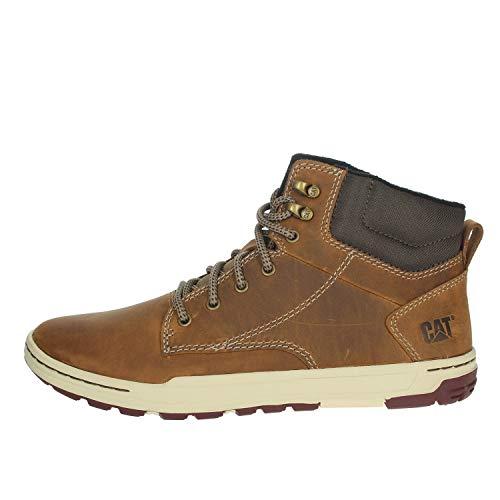 Cat Footwear Herren Colfax hi Combat Stiefel, Beige (Mens Dark BEIGE), 46 EU