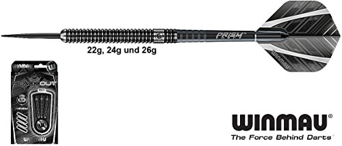 WINMAU Blackout Darts 90% Tungsten Steeldarts 22g