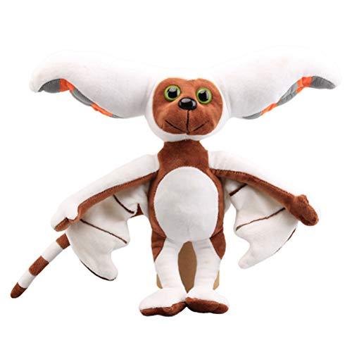 Fangteke Momo Plüschtier,Weiche Stofftiere Fledermauspuppe Kinderspielzeug 28Cm