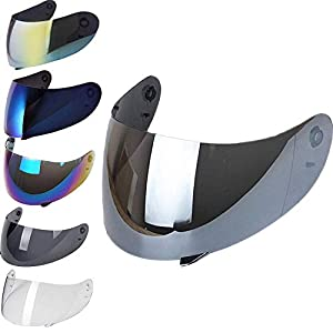 3 NOT FITS K3-SV MagiDeal Replacement Full Face Motorcycle Helmet Visor For AGV K3 K4 Helmets Lens Shield