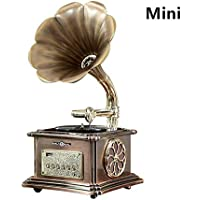 Gdeast 40W Retro Gramophone Shaped Bluetooth Speaker