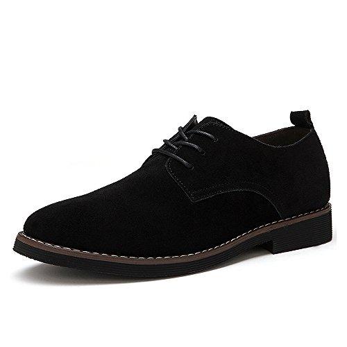 CCZZ Zapatos cordones ante hombre Zapatos