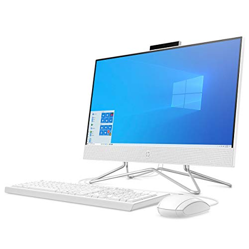 HP 22-df0032na 21.5-Inch Full HD All-in-One Desktop PC - White (Intel Core...