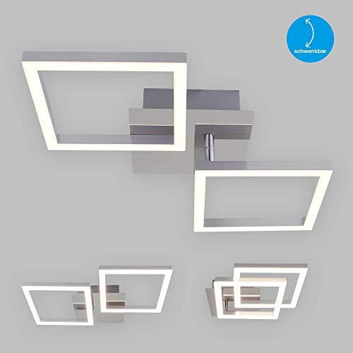 Briloner Leuchten Led-plafondlamp, chroom-zilverkleurig