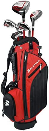 Orlimar Golf ATS Junior Boy s Golf Set with Bag Right and Left Hand Ages 3 5 Lime Blue 3 Clubs product image