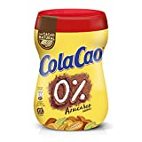 ColaCao 0% Azúcares Añadidos: Con Cacao Natural - Envase de 300 Gramos - [Pack de 4]