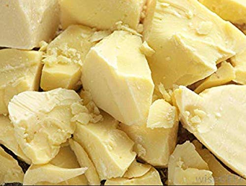 Hansi Naturals Cocoa Butter 100% Fresh (1 LB) Chunks for Creams,...