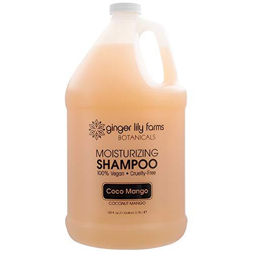 Ginger Lily Farms Botanicals Moisturizing Coco Mango Shampoo for All Hair Types(100% Vegan &...