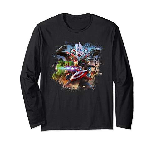 MARVEL ULTIMATE ALLIANCE 3: THE BLACK ORDER Avengers Long Sleeve T-Shirt