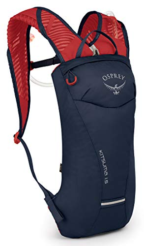 Osprey Kitsuma 1.5 Trinkrucksack für Frauen, mit Hydraulics™ LT 1,5-Liter-Trinkblase - Blue Mage (O/S)