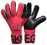 Nike Nk Gk Vpr Grp3-Fa19 Soccer Gloves, Unisex Adulto, Laser Crimson/Black/(Black), 7