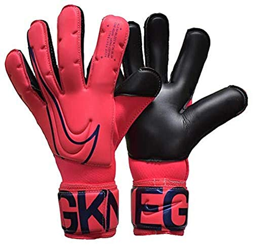 Nike Nk Gk Vpr Grp3-Fa19 Guanti Da Calcio, Unisex – Adulto, Laser Crimson/Black/Black, 7