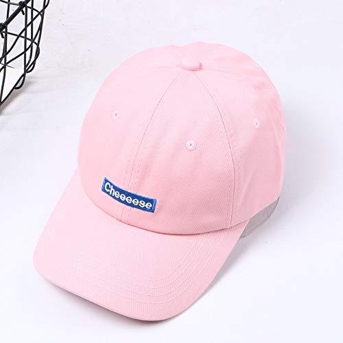 Hut weibliche Wilde Student Street Fashion Brief Baseballmütze männliche Persönlichkeit Kappe Pulver einstellbar