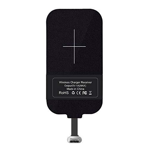 Nillkin USB-C Universal QI-Ladeempfänger Wireless Receiver für Type-C Geräte. Drahtlose Aufladung Empfänger für USB-C Ladeanschluss, Type C schnittstelle, Qi Empfänger