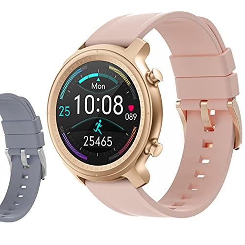 ZGNB Q1 Smart Watch, Ladies BT Call/Sport Podómetro/Monitoreo de frecuencia cardíaca/Seguimiento de sueño/Relojes Relojes Inteligentes,F