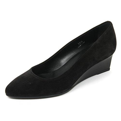 Tod's B9608 Decollete Donna Zeppa T50 Scarpa Nero Shoe Woman [38.5]