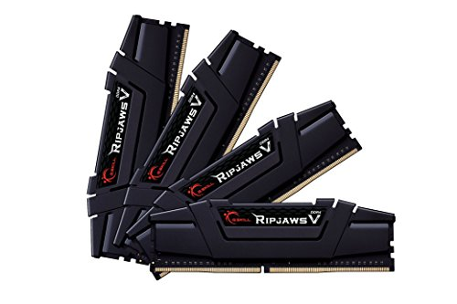 G.Skill 64GB (16GBx4) DDR4 Kit 64GB DDR4 3200MHz módulo de - Memoria (64 GB, DDR4, 3200 MHz, 4 x 16 GB, 1.35 V, Dual)