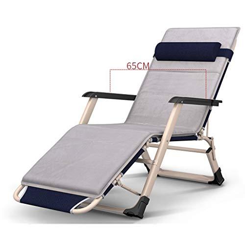YSXFC ligstoelen armleuning opklapbare lounge stoel bureaustoel katoen pad verstelbare anti-slip duurzame lounge stoel