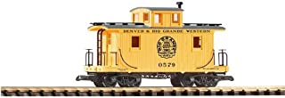 PIKO G SCALE MODEL TRAINS - D&RGW CABOOSE - 38833 by Piko