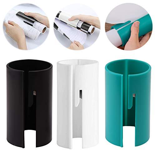 INTVN 3 Geschenkpapier Schneider Tragbare Papierschneider Weihnacht Papierschneider Sliding Geschenkpapier Cutter für Weihnachten Paket