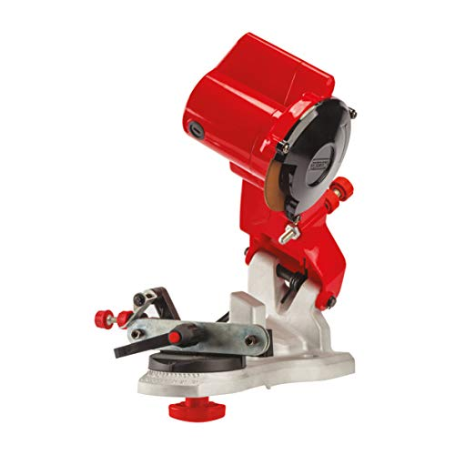 Oregon Compact 120-Volt Mini Bench Grinder, Universal Saw Chain Sharpener, for All Chainsaw Chains (310-120)