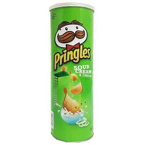 Pringles Sour Cream & Onion Patatine Sauerrahm & Zwiebel 160g Kartoffel chips