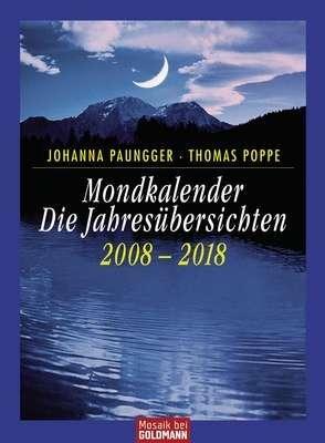Mondkalender - Die Jahresübersichten 2005-2015