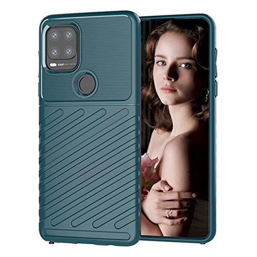 BRAND SET Funda de teléfono para Motorola Moto G Stylus 5G Advanced Soft Rubber Cover Anti-caída a prueba de golpes Cubiertas adecuadas para Motorola Moto G Stylus 5G (verde)