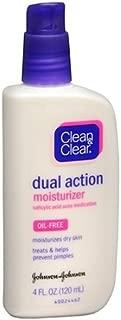 Clean & Clear Oil-Free Dual Action Moisturizer 4 fl oz (120 ml)