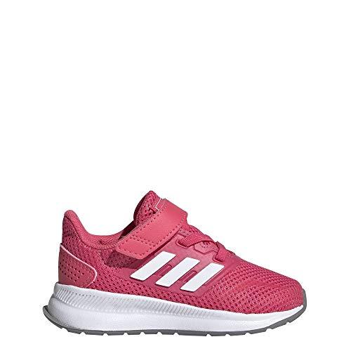 Adidas Runfalcon I, Zapatillas de Estar por casa Bebé Unisex, Multicolor (Rosrea/Ftwbla/Gritre...