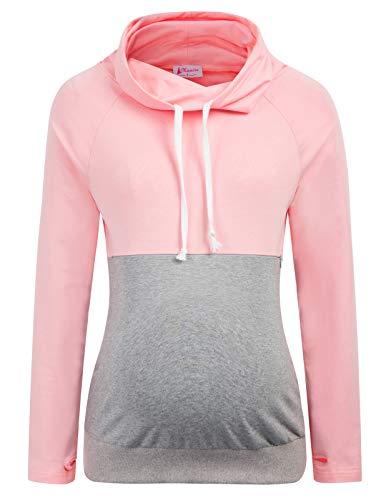 Maacie Schwangere Langarm Umstandskleidung Sweatshirt S MC1113-2