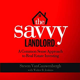 The Savvy Landlord audiobook cover art