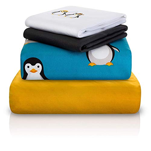 """Chital Twin Bed Sheet Set 