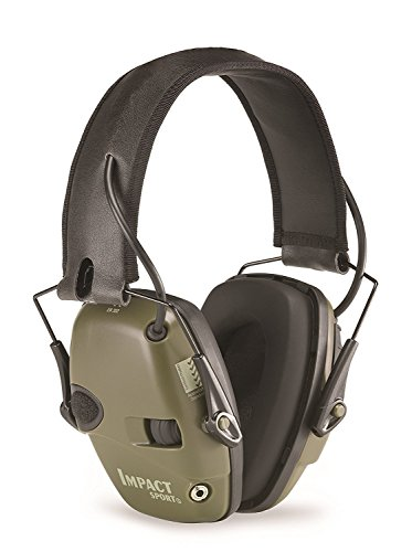 Howard Leight Honeywell Impact Sport Sound Amplification Electronic Shooting Earmuffs