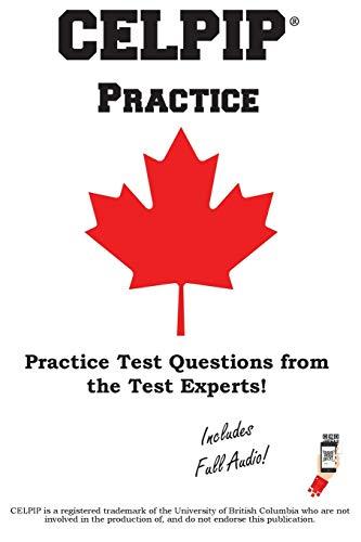 CELPIP Practice: Canadian English Language Proficiency Index Program® Practice Test Questions