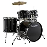 Ludwig Accent Drive Series LC175 Complete Drum Package with Cymbals, Hardware, Drum Throne,...