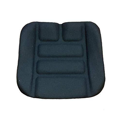 Cojín de asiento apto para Grammer DS85/90 AR, tela negra