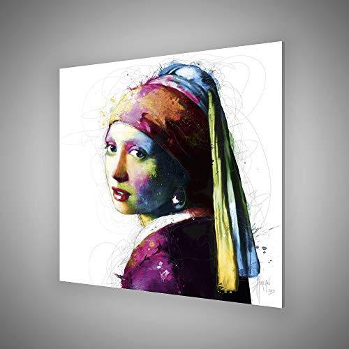 Patrice Murciano - VERMEER POP - Acryl plexiglas 30 x 30cm Wall Art