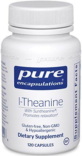 Pure Encapsulations L-Theanine | Amino Acid Supplement for Relaxation and Emotional Wellness* | 120 Capsules