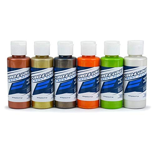 Pro-line Racing RC Body Paint Metallic Pearl Color (6 Pack), PRO632302