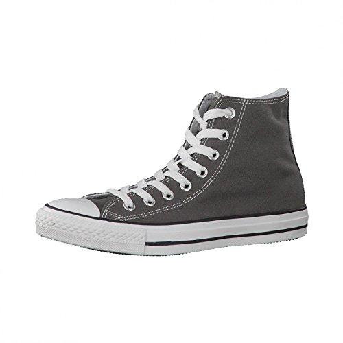 Converse Sneaker All Star Hi Canvas, Sneakers Unisex Adulto, Grigio (Charcoal), 46.5 EU